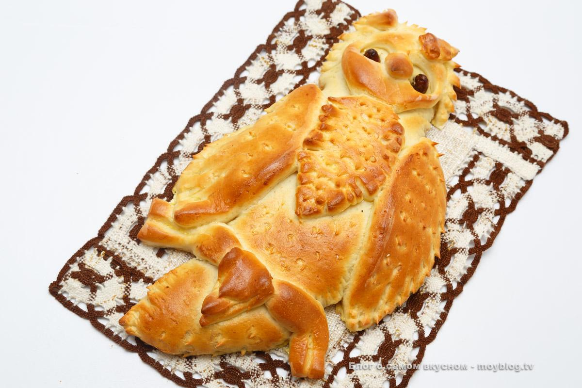 Пирог Совушка (8)