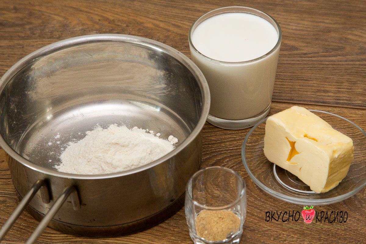 Как сделать подливку из молока и муки