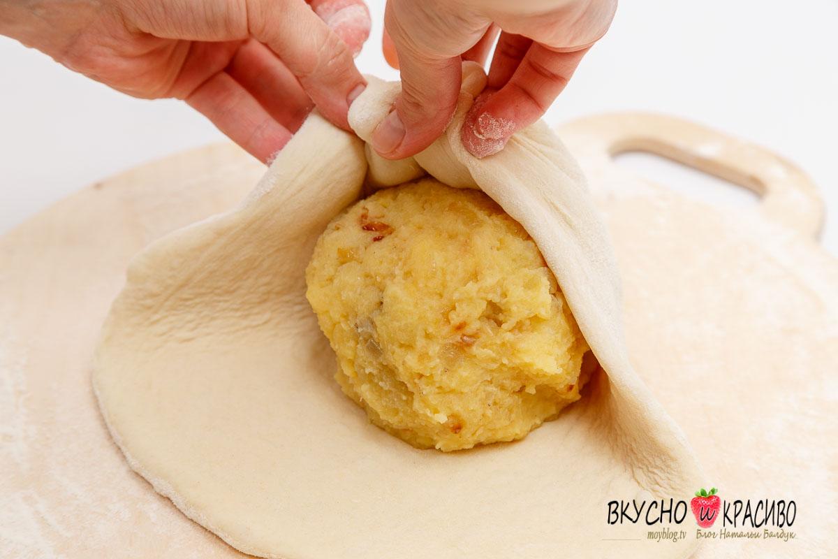 Как сделать тесто к осетинским пирогам 253
