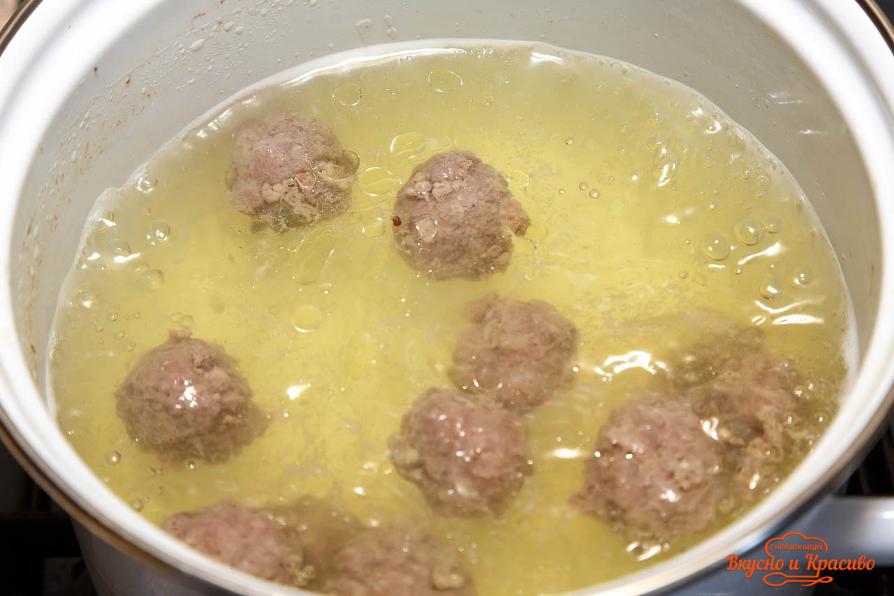 soup with meatballs-9
