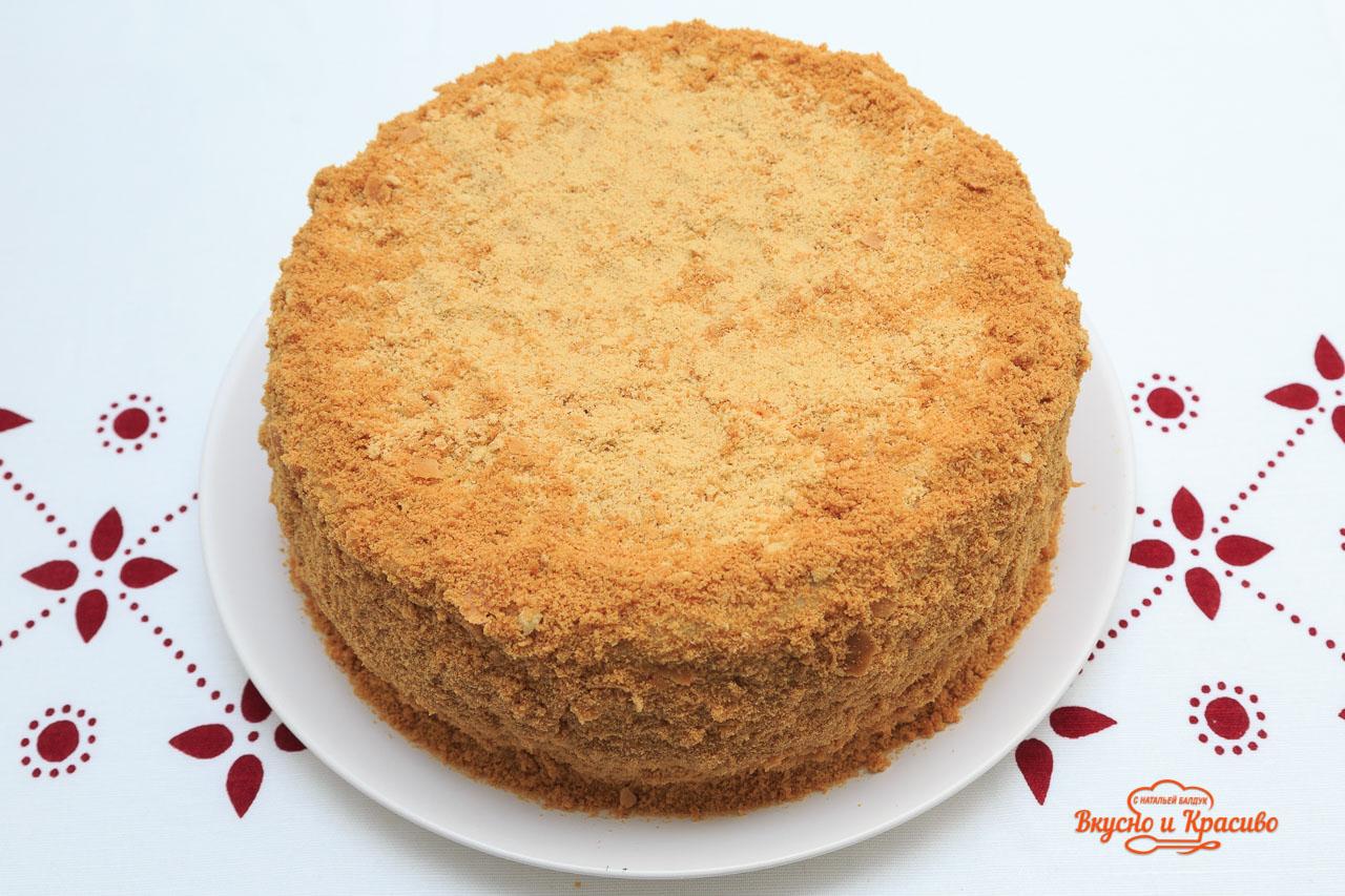 Медовый торт с пошаговым рецептом