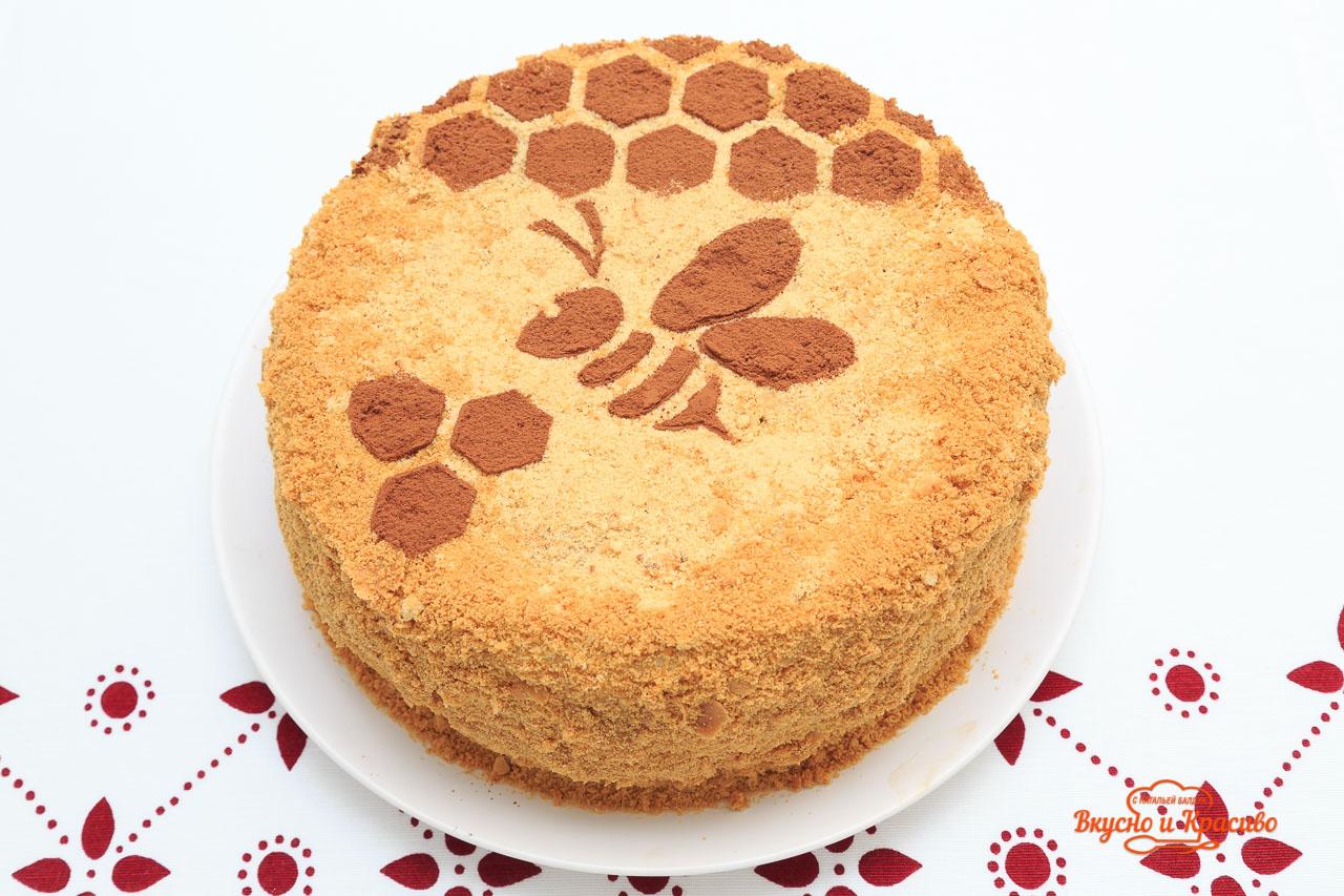 Рецепт классического торта медовик пошагово