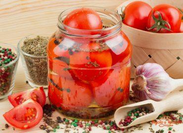 Кисло-сладкие томаты. Консервация.